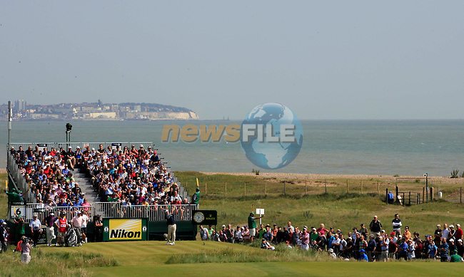 Matt Kuchar (USA) in action during the second round of the 140th Open Championship played at Royal St George's Golf Club on 15th July 2011 in Sandwich, Kent, England (Picture Credit / Phil INGLIS  / www.golffile.ie