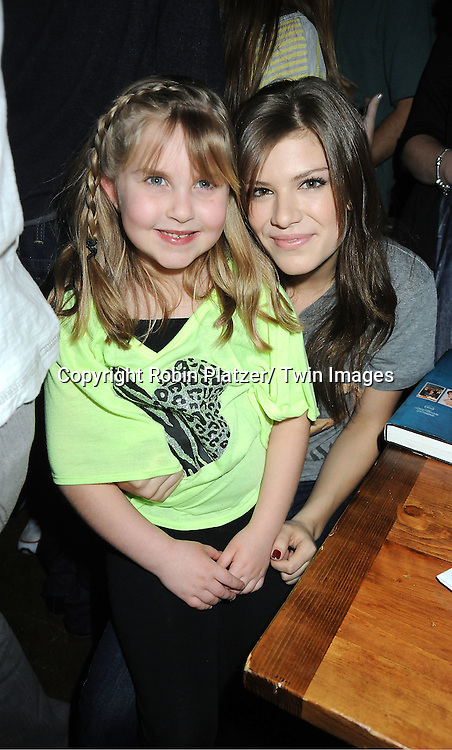 Stephanie Schmuhl and Kelley Missal attend The One Life To Live Benefit for The Amber Roach Memorial Garden on January 7, 2012 at Brother .Jimmy's BBQ Union Square Restaurant in New York City.