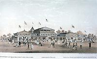 Utopia:  Centennial Exposition--Department of Public Comfort.