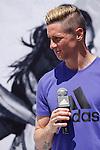 Atletico´s player Fernando Torres during Adidas presentation in Madrid, Spain. April 20, 2015. (ALTERPHOTOS/Victor Blanco)