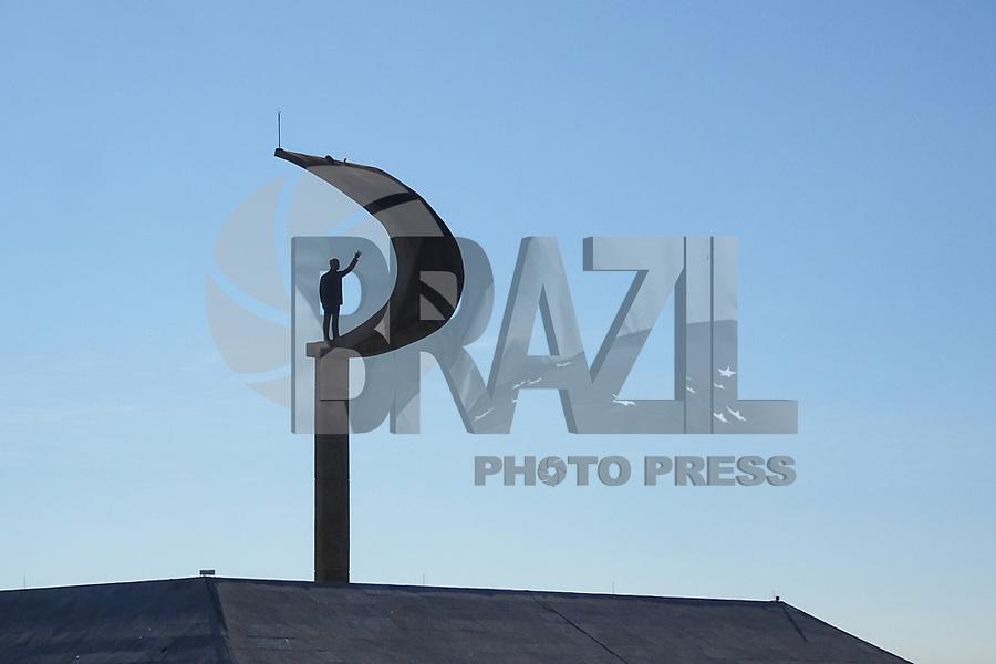 BRASÍLIA, DF, 04.07.2019 - POLÍTICA-DF - Memorial Juscelino Kubitschek visto nesta quinta-feira, 4. ( Foto Charles Sholl/Brazil Photo Press/Folhapress)
