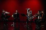 Brass Quartet during the presentation of the annual program of thaters Canal in Madrid. Jun 30,2016. (ALTERPHOTOS/Rodrigo Jimenez)