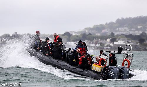 The Ocean Divers 'Ocean Enterprise' RIB takes divers out into Dublin Bay from Dun Laoghaire