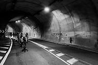 Tunnel vision <br /> <br /> 112th Il Lombardia 2018 (ITA)<br /> from Bergamo to Como: 241km