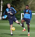 David Weir and Nathan Oduwa