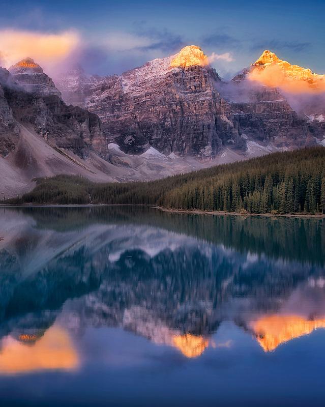 Moraine Lake. Banff National Park. Alberta Canada.