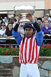 September 20, 2014:  Bayern with Martin Garcia win the $1,000,000 Grade II Pennsylvania Derby for 3-year olds, going 1 1/8 mile at Parx. Trainer: Bob Baffert. Owner: Kaleem Shah Inc. . Sue Kawczynski/ESW/CSM
