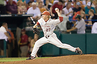 Robinson, JR 1866.jpg in Game 8 of the NCAA Division One Men's College World Series on Monday June 22nd, 2010 at Johnny Rosenblatt Stadium in Omaha, Nebraska.  (Photo by Andrew Woolley / Four Seam Images)