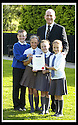 06/09/2007       Copyright Pic: James Stewart.File Name : sp_jspa05_weather_comp.SCOTTISH POWER : ROYAL METEOROLOGICAL SOCIETY : 2007 SCHOOLS WEATHER COMPETITION. .ALAN KELLY OF SCOTTISH POWER PRESENTS THE PUPILS FROM KING'S OAK PRIMARY SCHOOL, GREENOCK, WITH THEIR CERTIFICATE  AFTER THEY WON THE ROYAL METEOROLOGICAL SOCIETY'S, 2007 SCHOOLS WEATHER COMPETITION, SPONSORED BY SCOTTISH POWER... THE PUPILS ARE LtoR KYLE LINDSAY (10), REBECCA KEMP (10), SEONAID MCLAUGHLAN (9),  AND JENNA HOLMES (10).....James Stewart Photo Agency 19 Carronlea Drive, Falkirk. FK2 8DN      Vat Reg No. 607 6932 25.Office     : +44 (0)1324 570906     .Mobile   : +44 (0)7721 416997.Fax         : +44 (0)1324 570906.E-mail  :  jim@jspa.co.uk.If you require further information then contact Jim Stewart on any of the numbers above........