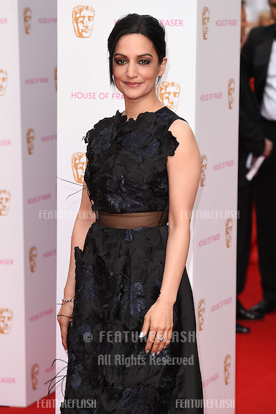 Archie Panjabi<br /> arrives for the 2015 BAFTA TV Awards at the Theatre Royal, Drury Lane, London. 10/05/2015 Picture by: Steve Vas / Featureflash