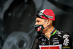 Philippe Gilbert (BEL) Lotto-Soudal at sign on before Stage 4 of Paris-Nice 2021, running 187.5km from Chalon-sur-Saone to Chiroubles, France. 10th March 2021.<br /> Picture: ASO/Fabien Boukla | Cyclefile<br /> <br /> All photos usage must carry mandatory copyright credit (© Cyclefile | ASO/Fabien Boukla)