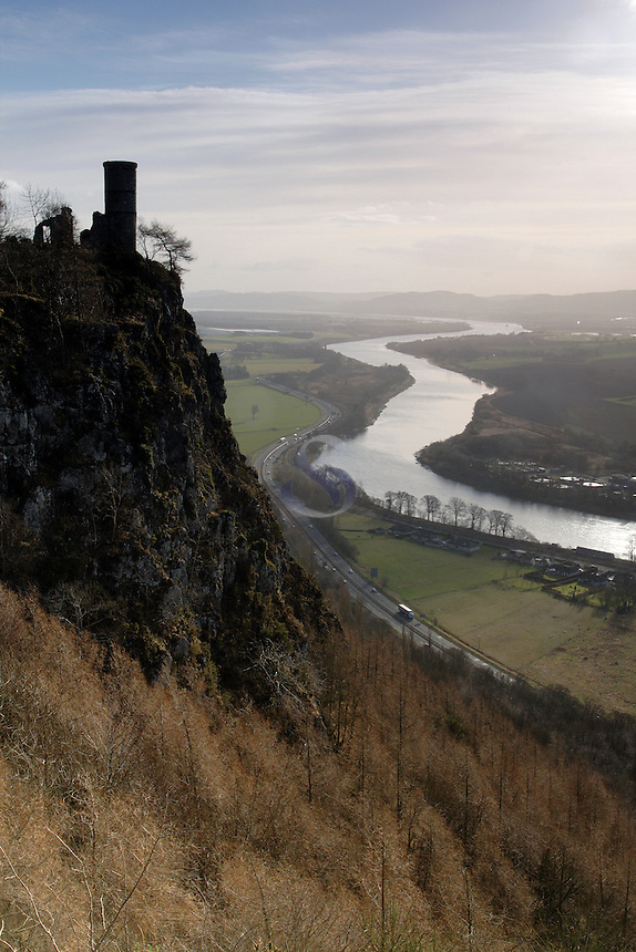Kinnoull Hill and the River Tay, Perth<br /> <br /> Copyright www.scottishhorizons.co.uk/Keith Fergus 2011 All Rights Reserved