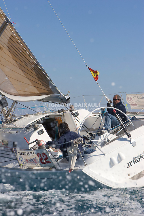 Esp 5253  .Jeronimo  .Roberto Sevila  .Juan Ronda  .CN Altea  .First 40.7 XXII Trofeo 200 millas a dos - Club Náutico de Altea - Alicante - Spain - 22/2/2008
