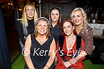 Enjoying the evening in Benners Hotel on Friday. Seated: Karen O'Driscoll and Sarah Ward. Back l to r: Edele Kenny, Aileen O'Mahoney and Maura O'Connor.