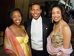Erica Lee, Bryce Kennard and Amanda Edwards at the Houston Area's Urban League Equal Opportunity Day Gala at the Hilton Americas Houston Saturday night June 20, 2009.(Dave Rossman/For the Chronicle)