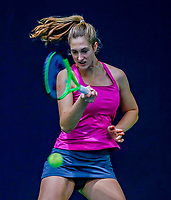 Hilversum, Netherlands, December 3, 2017, Winter Youth Circuit Masters, 12,14,and 16 years, Babette Burgersdijk (NED)<br /> Photo: Tennisimages/Henk Koster