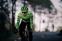 Matteo MOSCHETTI (ITA/Trek-Segafredo)<br /> <br /> Team Trek-Segafredo men's team<br /> training camp<br /> Mallorca, january 2019<br /> <br /> ©kramon