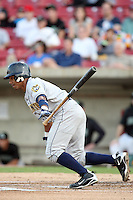 September 10, 2009: Jose Bonila of the Burlington Bees. The Bees are the Midwest League affiliate for the Kansas City Royals. Photo by: Chris Proctor/Four Seam Images
