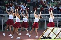 Cheerleader der Rüsselsheim Crusaders  - 08.04.2017: Rüsselsheim Crusaders vs. Nauheim Wildboys, Stadion am Sommerdamm