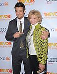 Josh Duhamel and mom at Trevor Live At The Hollywood Palladium in Hollywood, California on December 04,2011                                                                               © 2011 Hollywood Press Agency