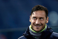 Calcio, Serie A: Roma vs Cagliari, Roma, stadio Olimpico, 22 gennaio 2017.<br /> Romaís Francesco Totti waits for the start of the Italian Serie A football match between Roma and Cagliari at Rome's Olympic stadium, 22 January 2017.<br /> UPDATE IMAGES PRESS/Isabella Bonotto