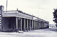 Palace of the Governors, Santa Fe after 1867-68 remodel.