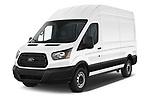 2019 Ford Transit-Van - 4 Door Cargo Van Angular Front automotive stock photos of front three quarter view