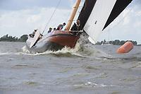 ZEILSPORT: Elahuizen: 10-08-2018, SKS Skûtsjesilen, ©foto Martin de Jong