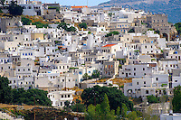 Apirathos Hill Top Village, Naxos, Greek Cyclades Islands