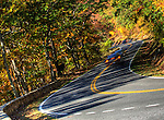 Visitors travel the 105-mile Skyline Drive through the Shenandoah National Park in Front Royal, Virginia, just 75 miles from the nation's capitol.