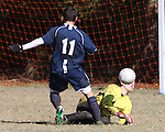 Soccer action during the COPA Acadiana Tournament played at Moore Park in Lafayette, LA on December 5-6, 2009.