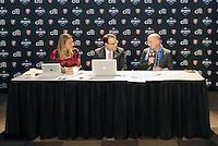 Kyndra de St Aubin, Dean Linke, Paul Riley... The WPS draft 2012 was held at the Kansas City Convention Center, Kansas City, MO.