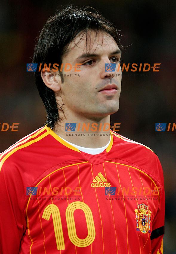 Spain's Fernando Morientes before Euro 2008 qualifier match between Spain and Denmark at Santiago Bernabeu stadium in Madrid, Saturday March 24, 2007. (INSIDE/ALTERPHOTOS/Alvaro Hernandez). Spagna Danimarca Qualificazioni Euro 2008