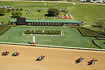 HOT SPRINGS, AR - MARCH 19: Scenery prior to the running of the Rebel Stakes at Oaklawn Park on March 19, 2016 in Hot Springs, Arkansas. (Photo by Justin Manning/Eclipse Sportswire/Getty Images)