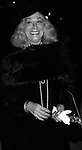 Sylvia Miles attendsan Opening on September 1, 1983 in New York City.