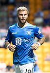 St Johnstone FC Season 2018-19…  McDiarmid Park    <br />Richie Foster<br />Picture by Graeme Hart. <br />Copyright Perthshire Picture Agency<br />Tel: 01738 623350  Mobile: 07990 594431