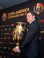 New York, NY - Friday June 24, 2016: CONMEBOL president Alejandro Dominguez during a press conference prior to the final of the Copa America Centenario at The Westin New York at Times Square.<br /> <br /> Photo during American Cup USA 2016 Press Conference The Westin New York at Times Square --- Foto durante la Conferencia de Prensa previo a la Gran Final de la Copa America Centenario USA 2016, enla foto: Alejandro Dominguez, Presidente CONMEBOL, <br /> ---24/06/2016/MEXSPORT/ Jorge Martinez.