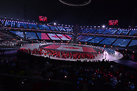 OLYMPIC GAMES: PYEONGCHANG: 09-02-2018, PyeongChang Olympic Stadium, Olympic Games, Opening Ceremony, Team Canada, ©photo Martin de Jong