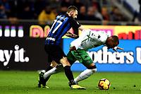 Kevin Prince Boateng-Marcelo Brozovic <br /> Milano 19-1-2019 Giuseppe Meazza stadium Football Serie A 2018/2019 Inter - Sassuolo <br /> Foto Image Sport / Insidefoto