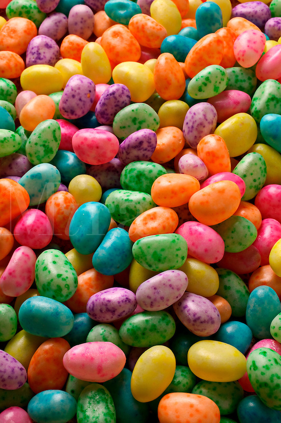 a pile of colorful jelly beans