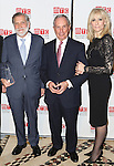 Tom Secunda, Michael Bloomberg and Judith Light attending the Manhattan Theatre Club's 2014 Spring Gala at Cipriani 42nd Street on May 19, 2014 in New York City.