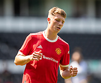 18th July 2021; Pride Park, Derby, East Midlands; Pre Season Friendly Football, Derby County versus Manchester United;  Will Fish of Manchester United