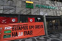 RIO DE JANEIRO (RJ), 20.02.20. GREVE PETROBR (Foto: Ellan Lustosa/Codigo 19/Codigo 19)