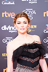 Actress Marta Nieto attends the red carpet previous to Goya Awards 2021 Gala in Malaga . March 06, 2021. (Alterphotos/Francis González)