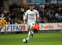 Pictured: Gorka Pintado of Swansea <br /> Re: Coca Cola Championship, Swansea City Football Club v Southampton at the Liberty Stadium, Swansea, south Wales 25 October 2008.<br /> Picture by Mike Greenslade / Dimitrios Legakis Photography, Swansea, 07815441513