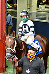 February 27, 2021: Scenes from the post parade of the Southwest Stakes (Grade 3) at Oaklawn Park in Hot Springs, Arkansas. Ted McClenning/Eclipse Sportswire/CSM