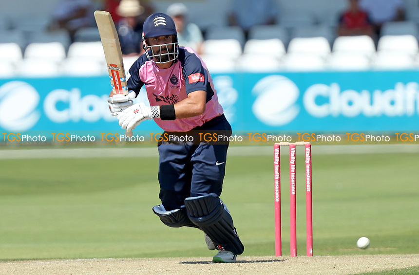 Daryl Mitchell of Middlesex in batting action during Essex Eagles vs Middlesex, Vitality Blast T20 Cricket at The Cloudfm County Ground on 18th July 2021