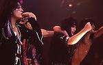 Motley Crue at Madison Square Garden Aug 1985.