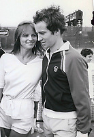 John McEnroe & Cheryl Tiegs 1977<br /> Photo By John Barrett-PHOTOlink.net / MediaPunch