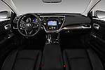 Stock photo of straight dashboard view of 2018 Toyota Avalon XLE Premium 4 Door Sedan Dashboard